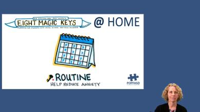 8 Keys at Home - Routine
