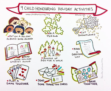 9 Child Honouring Holiday Activities