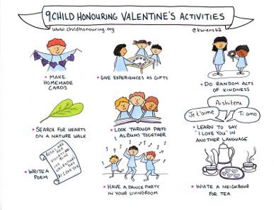 9 Child Honouring Valentines Activities