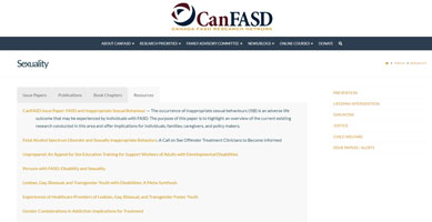 CanFASD Sexuality