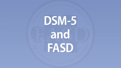 Christine Lilley - DSM-5 and FASD