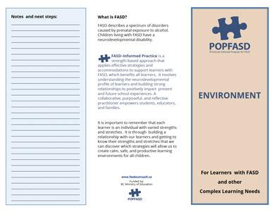 Environment Brochure