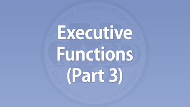 Executive Functions (Part 3)