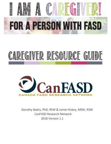 I am a Caregiver! Caregiver Resource Guide
