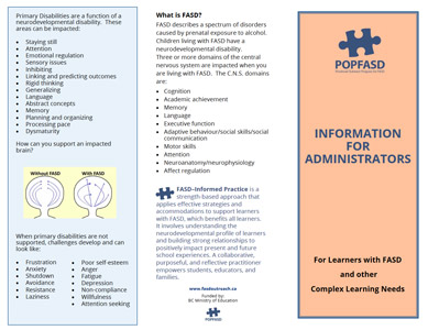Information for Administrators Brochure