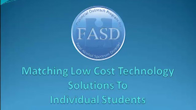 Matching Low Cost Technology to Individual Students (Part 1)