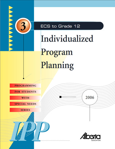 Programming for Students with Special Needs Book 3: Individual Program Planning