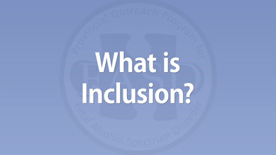 Shelley Moore - What is Inclusion?