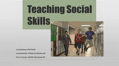 Teaching Social Skills - Secondary