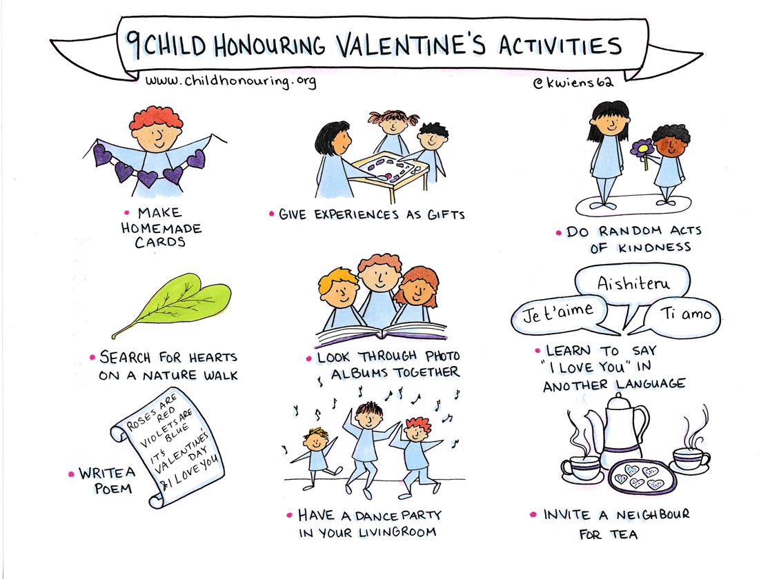 9 Child-Honouring Valentine's Activities