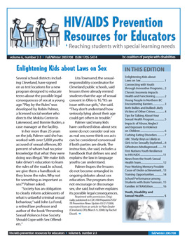 HIV/AIDS Prevention Resources for Educators: Reaching Students With Special Learning Needs